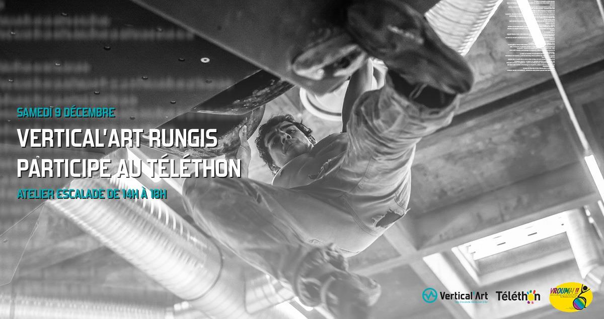 téléthon - rungis - salle d'escalade de bloc - rungis