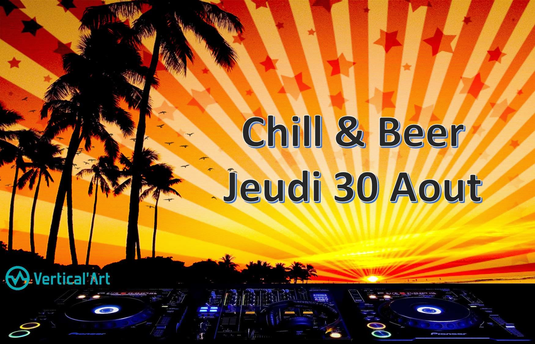 Barbecue, BBQ, chill, bières, bières artisanales, dégustation de bière, live music, DG set