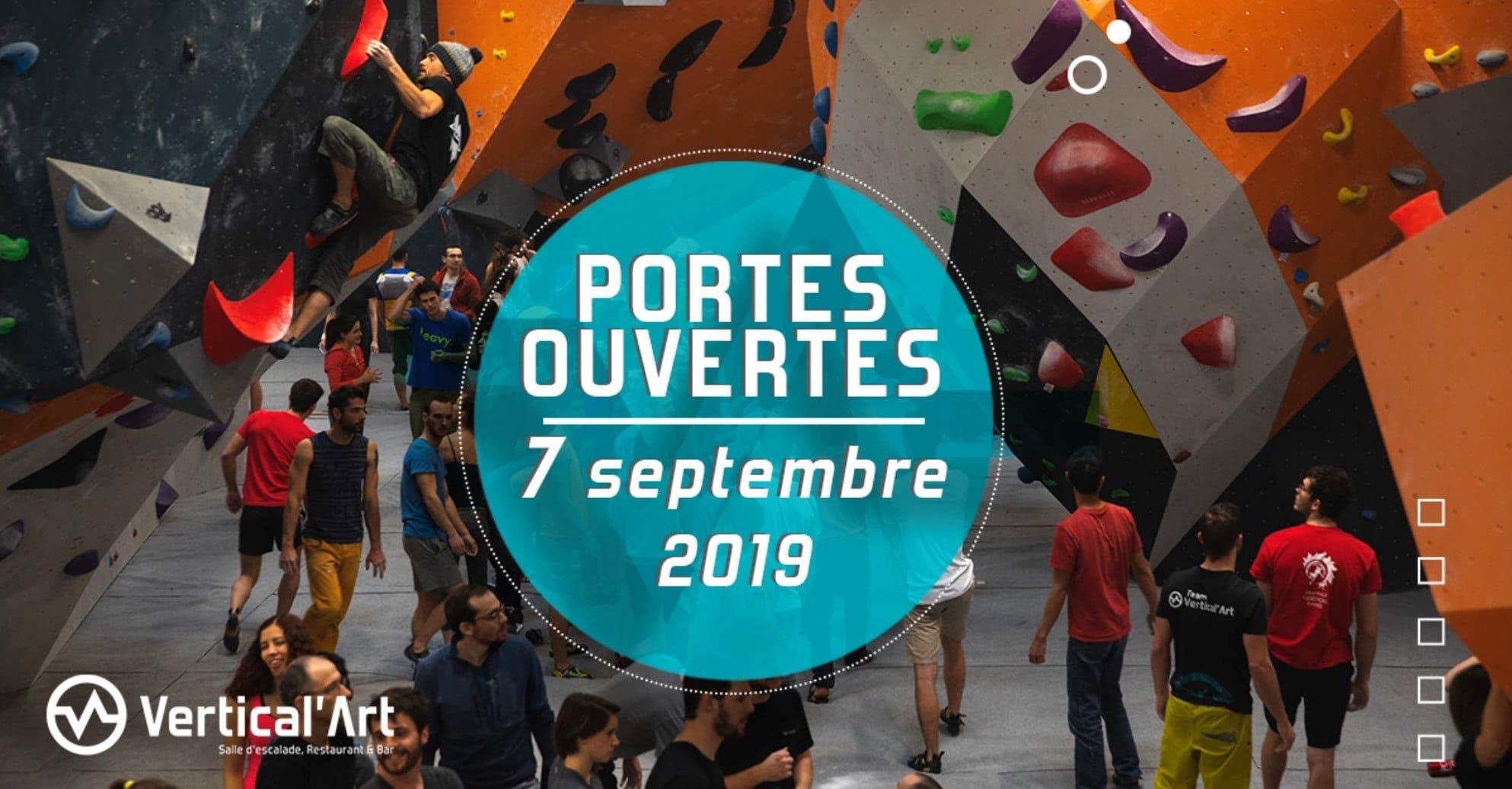 journée portes ouvertes à Vertical'Art Rungis - entrée gratuite
