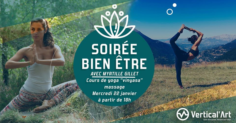 Soirée Bien-Etre VA Rungis - Vertical'Art Rungis - Salle d'escalade Val de Marne -Vertical'Art Yoga -