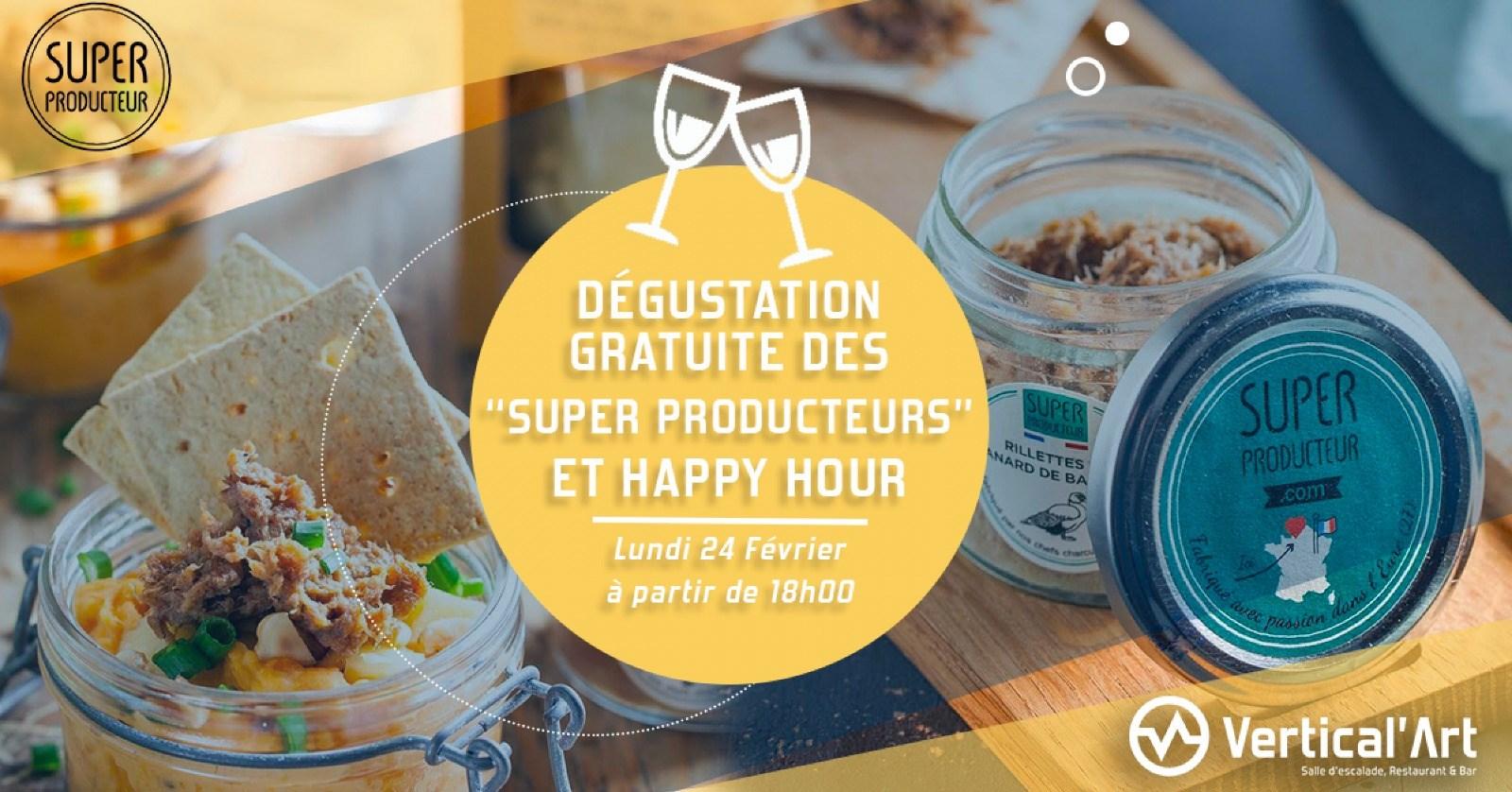 Vertical'art Rungis- Salle d'escalade de bloc - Val de Marne- Dégustation gratuite - Le superproducteur - Agriculture durable - Transition écologique - Restaurant bar