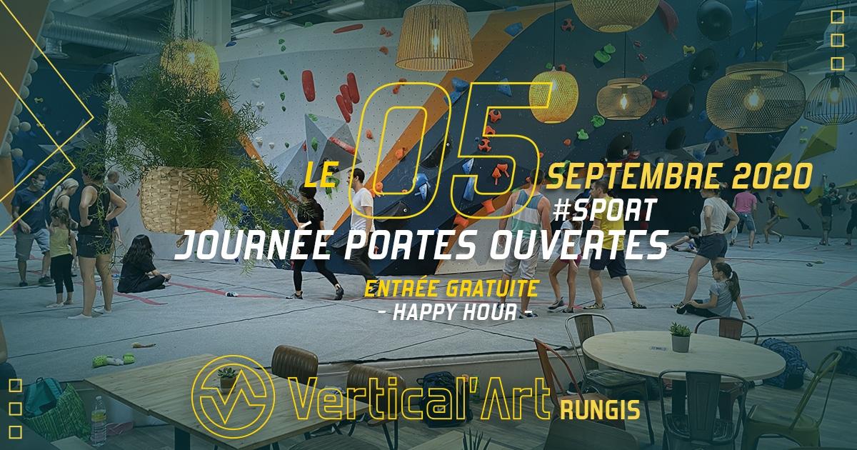 journée portes ouvertes à Rungis - salle d'escalade Vertical'Art Rungis - restaurant et bar - entrée gratuite