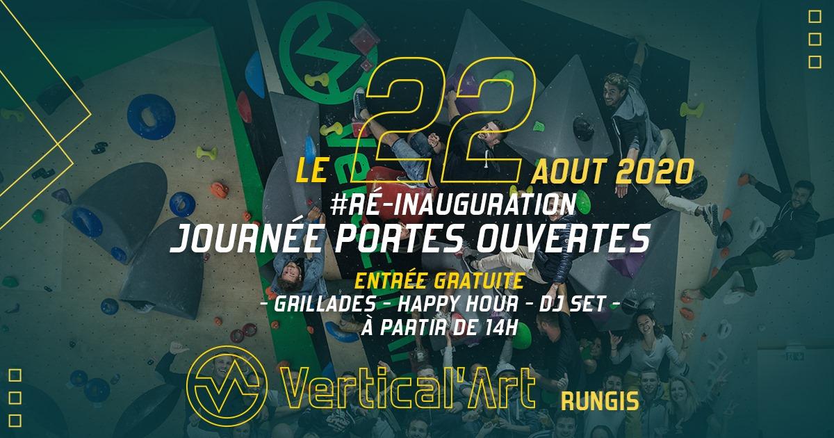 Réouverture de la salle d'escalade Vertical'Art Rungis, escalade dans le Val-de-Marne
