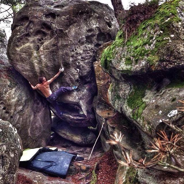 où faire de l'escalade de bloc dans la forêt de Fontainebleau ?